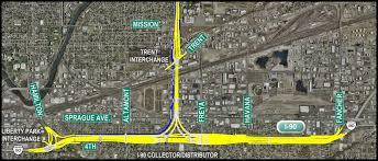Spokane Map North Spokane Corridor Project Biersdorf Blog