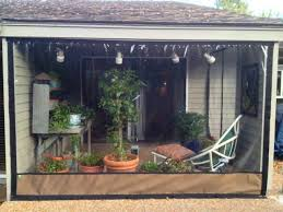Clear Vinyl Curtains For Porch Marvelous Roll Up Porch Curtains Designs With Clear Vinyl Roll Up