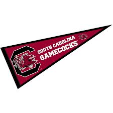 Gamecock Flag Amazon Com South Carolina Gamecocks Pennant Full Size Felt