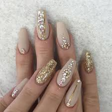 imagenes de uñas acrilicas con pedreria uñas nude con pedrería kortenstein uñas pinterest uñas nude