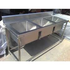 Three Bowl Kitchen Sink Manufacturer From Thane - Triple sink kitchen