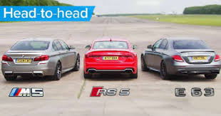 mercedes and to bmw m5 vs mercedes amg e63 s vs audi rs5