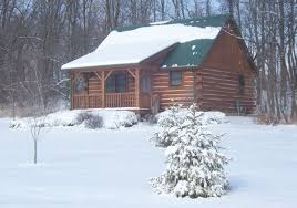 the cabins at cabins and candlelight a romantic log cabin getaway winter at cabins candlelight