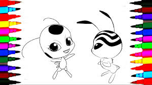 coloring pages ladybug miraculous l how to color kids drawing