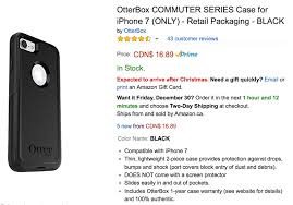 amazon black friday on iphone iphone 7 case deal otterbox commuter 66 off at 16 89 on amazon