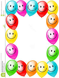 best free birthday clip art borders party balloon border pictures