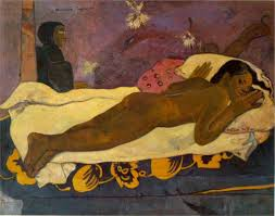 the spirit of the dead watches 1892 by paul gauguin