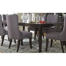 Espresso Dining Room Set by Dining Table Platinum Espresso Rc Willey Furniture Store