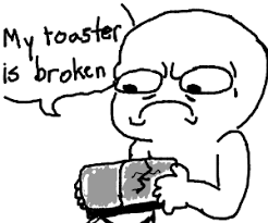 Toaster Face Angel Toaster