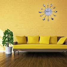 Design Home Decor Wall Clock by Online Get Cheap Cutlery Wall Clock Aliexpress Com Alibaba Group