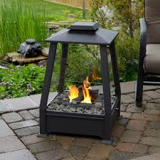 Real Flame Fire Pit - metal fire pit with chimney crowdbuild for