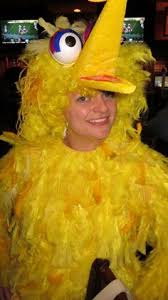 Digger Halloween Costume Halloween Diy Paulina U0027s Big Bird Costume Big Bird Costume Bird
