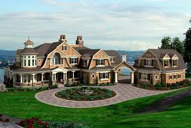 spectacular shingle style house plan 23413jd architectural