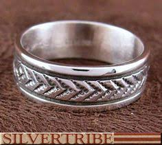Native American Wedding Rings by Native American Wedding Rings Sets The Maiden Wore Her Braids