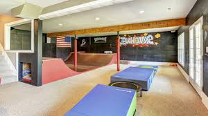 Home Gym Decorating Ideas Photos Basement Gym U0026 Skatepark Best Home Gym Decorating Design Ideas