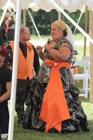 camo and orange wedding dresses discount plus size wedding camo dress with sleeve