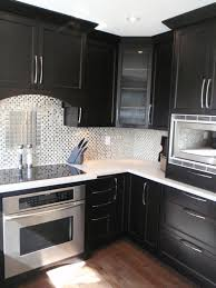 Black Cabinets White Countertops Black Counters Design Ideas
