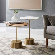 west elm round side table maisie side table west elm australia