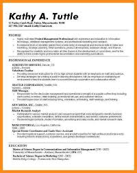 Profile Sample Resume by 9 Students Profile Sample Mystock Clerk