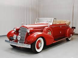classic cars convertible 1935 cadillac 355 d convertible sedan hyman ltd classic cars