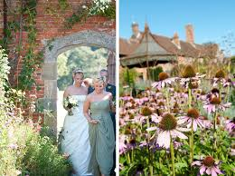 the walled garden cowdray the sunniest wedding of the year