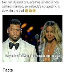 Ciara Meme - neither russell or ciara has smiled since getting married somebody s