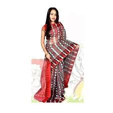 jamdani sharee dhakai jamdani saree at rs 1200 habibpur