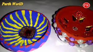 happy diwali handmade diya making idea for students kids