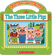 pigs finger puppet theater book scholastic