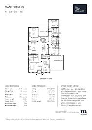 santorini 29 by metricon price floorplans facades display