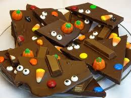 halloween chocolate and candy bark with yoyomax12 youtube