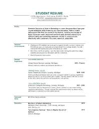 best resume template for recent college graduate resume template for recent college graduate high students