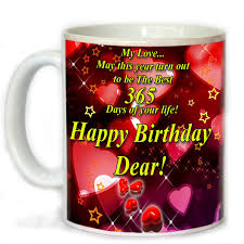 birthday gifts tohfah4u happy birthday gift set for boyfriend 1 mug 1 key ring