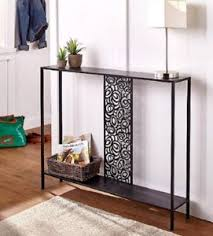 6 inch deep console table narrow console table ebay