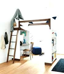 Bunk Bed Desk Loft Bed With Desk Underneath Katecaudillo Me