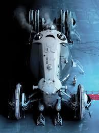 daniel simon icetrain wild rides sci fi cars