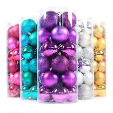 24pcs baubles ornament balls pe baubles