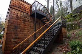 Garage Stairs Design High Performance Garage Addition By Portland Seattle Home Builder