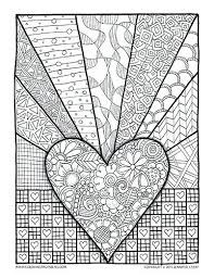 coloring pages valentines color by number valentines hello kitty