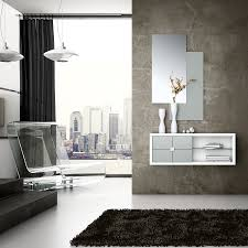 muebles para recibidor mueble para recibidor nerja blanco y plata muebles tiendas de