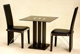 Outstanding Dining Table  Chairs Small Kitchen And Black With - Kitchen table for two