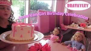 girl birthday an american girl birthday celebration wk 190 2 bratayley