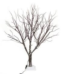 twig tree 5ft frosted twig tree home gift 1 2m 48 led