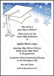 high school graduation cards add a graduating picture to your junior high school middle school