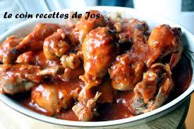 cuisiner des pilons de poulet le coin recettes de jos pilons de poulet au ketchup et au ale
