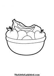 bowl coloring pages