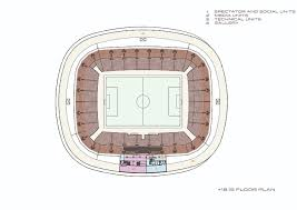 stadium floor plan gallery of sivas stadium bahadir kul architects 20