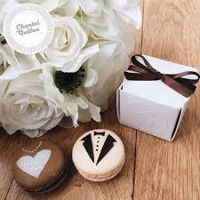macaron wedding favors wedding macarons wedding favors chantal guillon