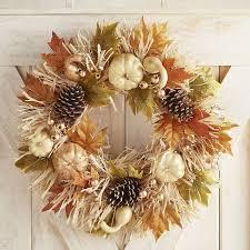 pier 1 imports pumpkin raffia wreath best fall wreaths