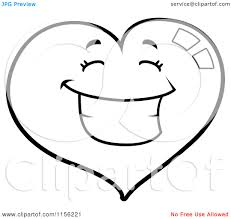 8 images of hearts coloring page sad confusion heart clip art